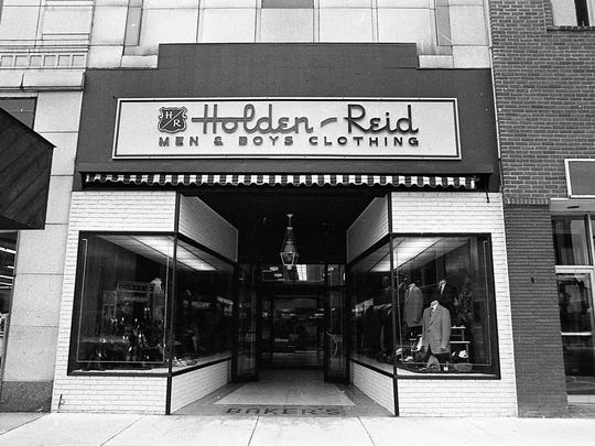 Holden-Reid downtown Lansing store, undated photo.