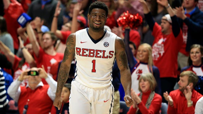Guard Martavious Newby hopes his return, along with guard Stefan Moody's and forward Sebastian Saiz', helps Ole Miss contend down the stretch.