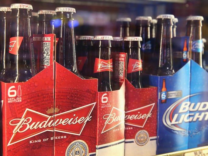 26 most popular beer brands in the U.S.