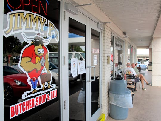 Jimmy P's Butcher Shop and Deli has operated for nearly 15 years in Moorings Plaza across U.S. 41 from Coastland Center mall in Naples.