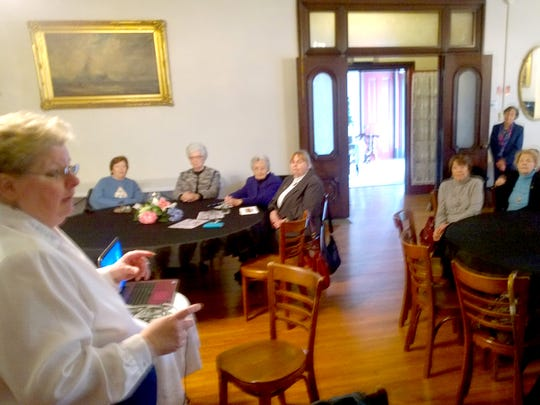 The Women's Club of Lebanon met for its monthly meeting.