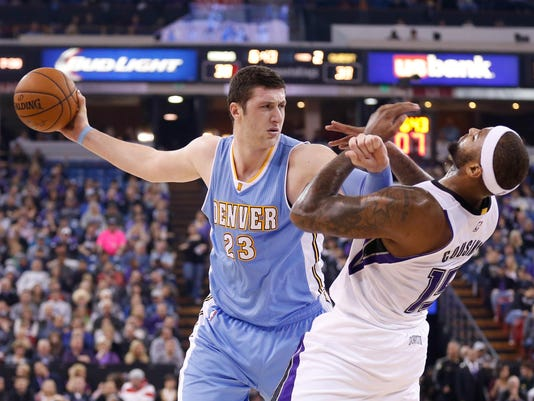 NBA: Denver Nuggets at Sacramento Kings