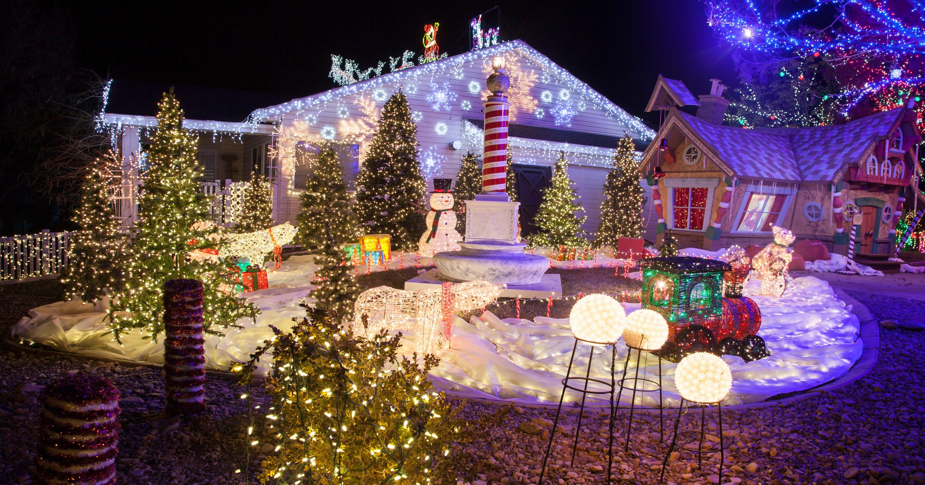 2nd St George Home Wins Abc Christmas Light Show Lights