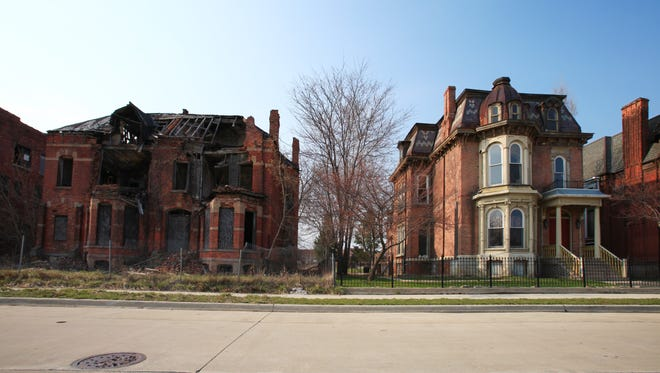 An ugly home can be labeled that way for a variety of reasons from high crime to abandon homes.