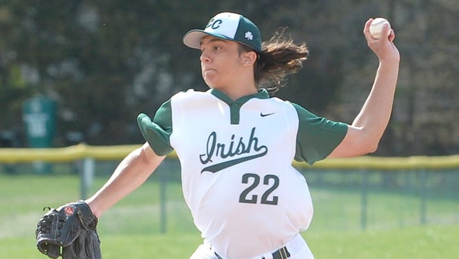 Jay Crusmire struck out nine and gave up just two hits as Camden Catholic routed Bishop Eustace.