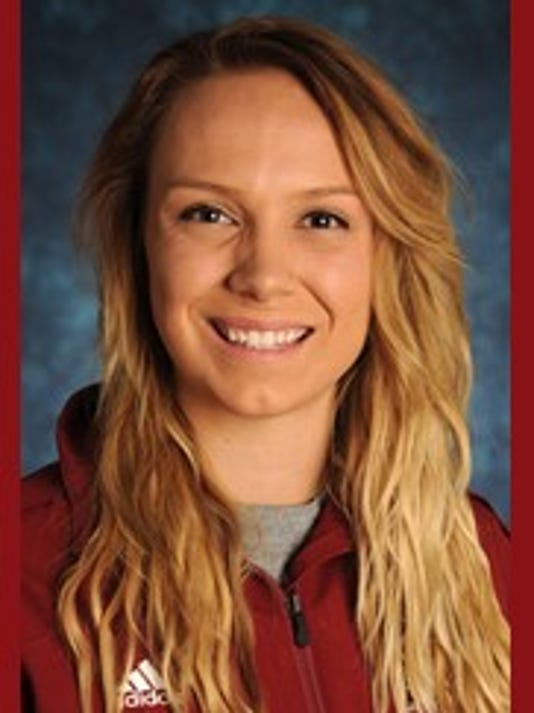 New Mexico State outside hitter Gwen Murphy.