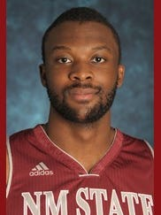 New Mexico State sophomore forward Johnathon Wilkins