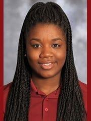 New Mexico State junior Moriah Mack.