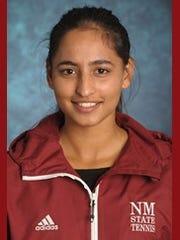 New Mexico State sophomore Rimpledeep Kaur.