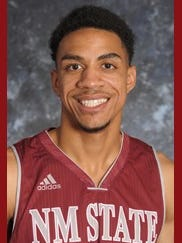 New Mexico State sophomore Matt Taylor.