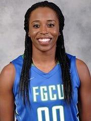 FGCU basketball player DyTiesha Dunson