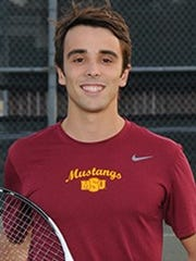 MSU senior Ramon Toyos was named the Lone Star Conference Men's Tennis Academic Player of the Year.