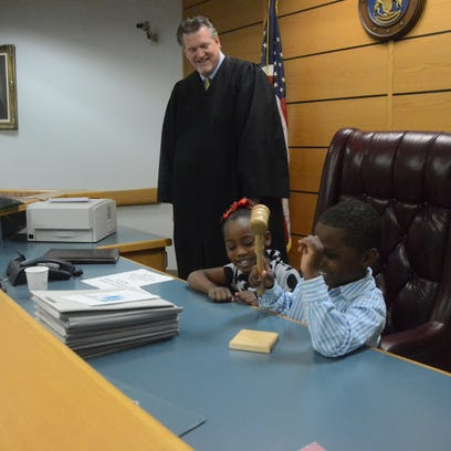 Chief Probate Judge Michael Jaconette invited Oliver