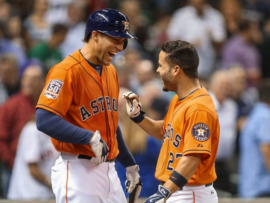 Here already? Rebuilt Astros rise to top of AL