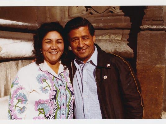 Services Monday for Helen Chavez, wife of Cesar