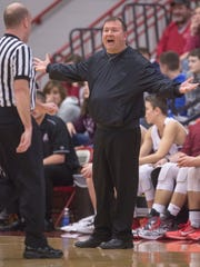 FILE — Assistant coaches helped fill the void as Brian Barber worked his way back to Danville's bench.