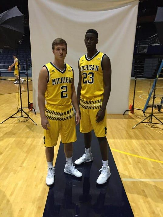 Jordan Michigan Basketball apparel just came out (Photos)  b92e8b594