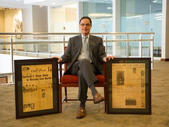 Evansville banker Gary Roan, son of Sanford Roan.