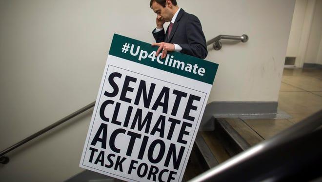 Seth Larson, communications director for a senator.