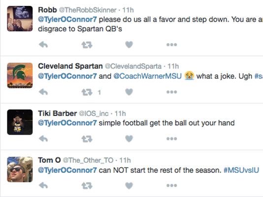 Tyler O'Connor Twitter screen shot 2