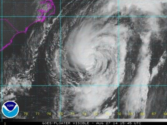 Hurricane Cristobal today (Source: National Hurricane Center)