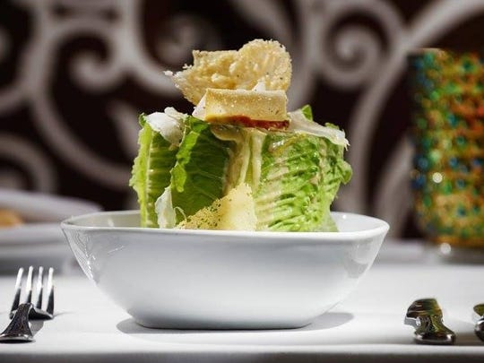 The Caesar salad at Le Stick Nouveau is an example