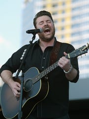 Chris Young performs at CMA Music Festival  at Ascend Amphitheater on Wednesday, June 8, 2016.