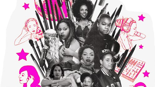 Promotional material for the Contemporary Interactive Women in Hip-Hop Conference