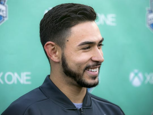 Alex Roldan, the Sounders' 2018 first round draft pick