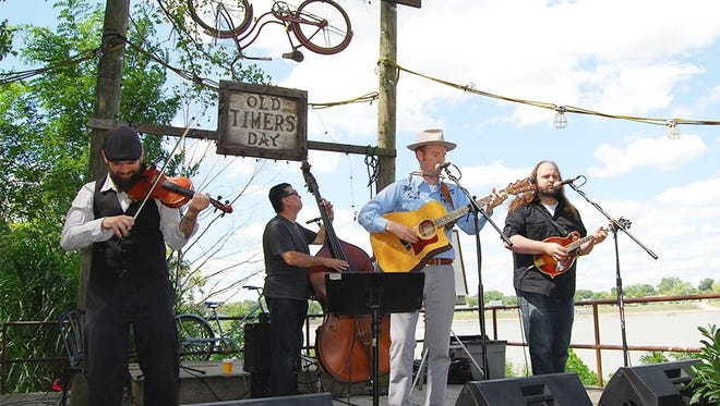 Jake Speed and The Freddies perform during the 37th annual Rabbit Hash Old Timers Day on Sept. 3, 2016.