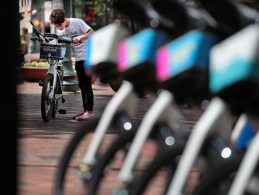 bike share LEAD ART