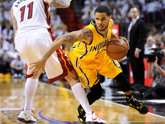 D.J. Augustin had career lows during his time in Indiana.