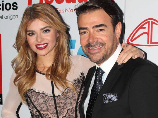 Toño Mauri, aquí acompañado de su hija Carla, está