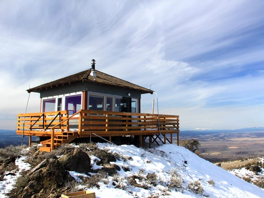 Hager Mountain Lookout is in south central Oregon's