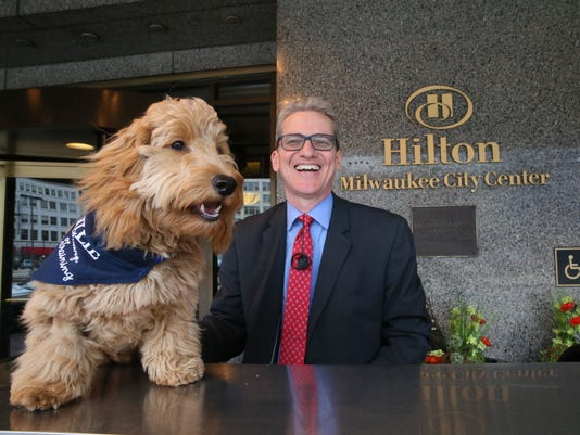 Millie the canine concierge