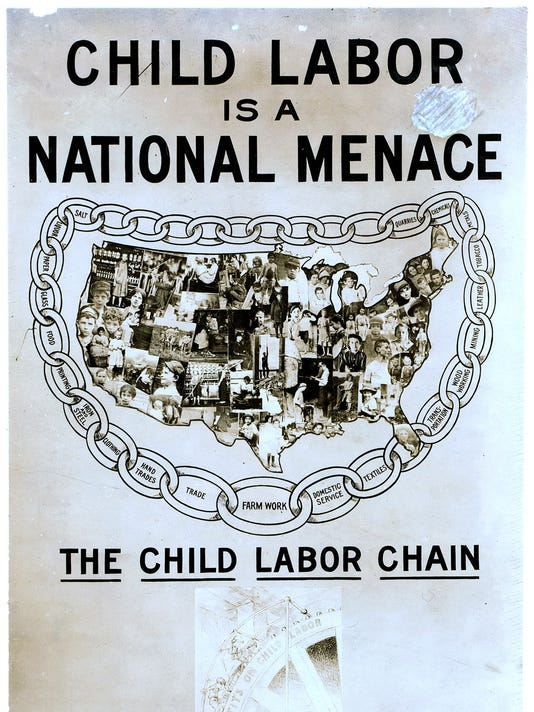 A_poster_to_campaign_against_child_labor_practice_in_early_20th_century_Unit.jpg