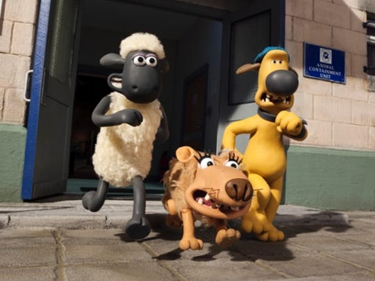 """Shaun the Sheep"" tells a story without words."