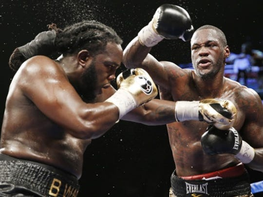 Deontay Wilder will defend his WBC heavyweight title