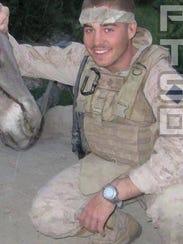 "Former Marine Lance Cpl. Janos V. ""John"" Lutz."