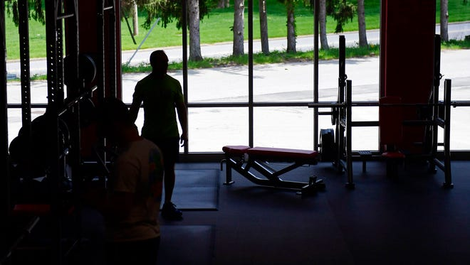 Free weights get their own separate room at the Gold's Gym at the Queensgate Town Center. The new Gold's Gym at South Queen Street in York Township held a soft opening on May 5, 2018. This location replaced the old Gold's Gym on Pauline Drive.