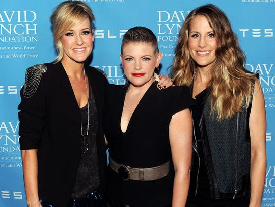 Musicians Martie Maguire, Natalie Maines and Emily