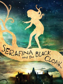 """The young adult novel """"Serafina and the Black Cloak"""" comes out in July."""