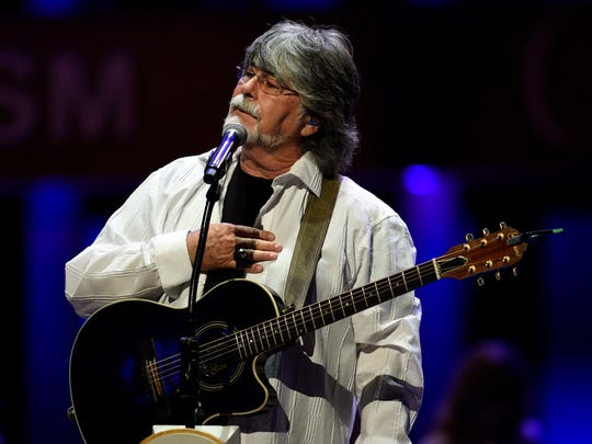 Randy Owen performs at the Grand Ole Opry Tuesday Sept. 15, 2015, in Nashville, Tenn.
