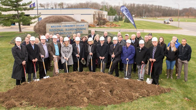 TIFA groundbreaking event at KCC's RMTC on Friday.