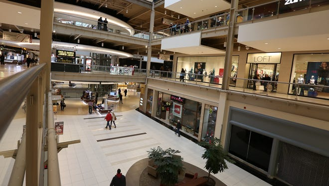 Scenes from the Palisades Center Mall in West Nyack on Tuesday, Dec. 8, 2015.