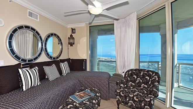 5 Portofino Drive #501, an additional bedroom or office space with a view.