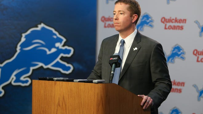 New Lions general manager Bob Quinn