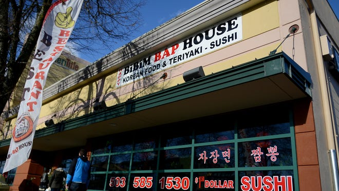 The Bibimbap House, a Korean restaurant, on Chemeketa Street in downtown Salem, will be closed on Memorial Day