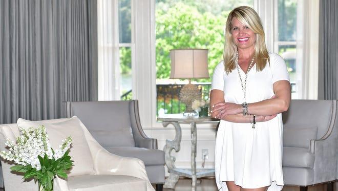 Kristin Bouchard is a designer at Aqua Decor & Design.