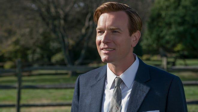 "Ewan McGregor as Swede Levov in ""American Pastoral."""